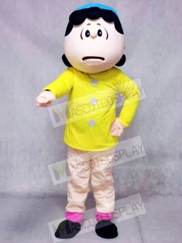 Lucy van Pelt from Snoopy Dog Mascot Costumes People Cartoon