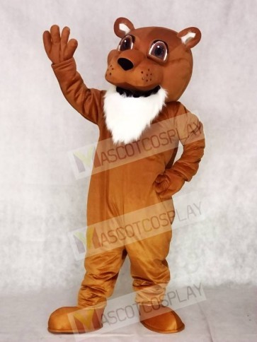 High Quality Colby Cougar Mascot Costume