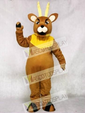 Brown Regal Elk Deer Mascot Costume