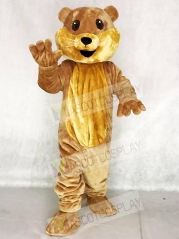 Cute Ollie Otter Mascot Costume