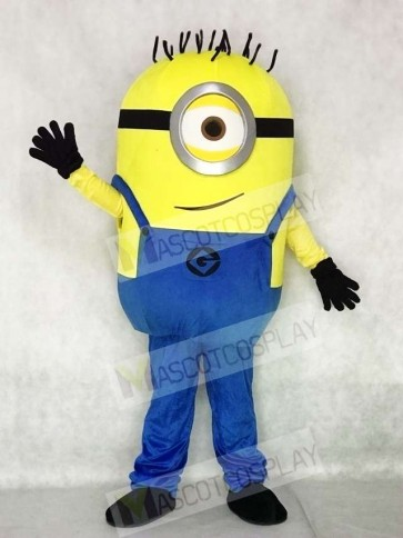 Despicable Me Minions One Eye Mascot Costumes Cartoon