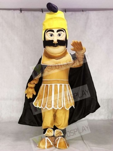 Fierce Trojan Warrior Mascot Costume