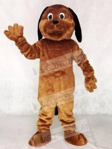 Black Ear Brown Dog Mascot Costumes Animal