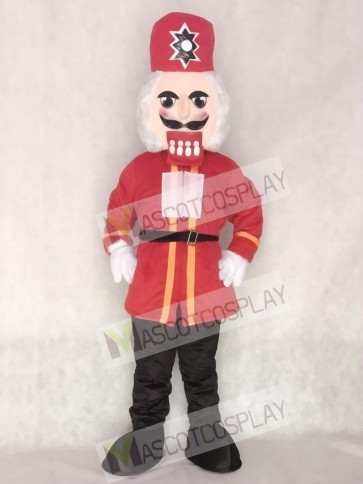Nutcracker Christmas Mascot Costume Xmas