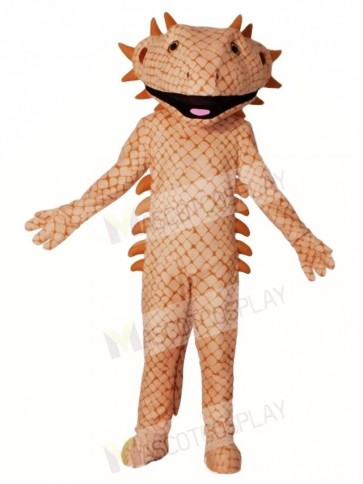 Brown Lizard Mascot Costumes