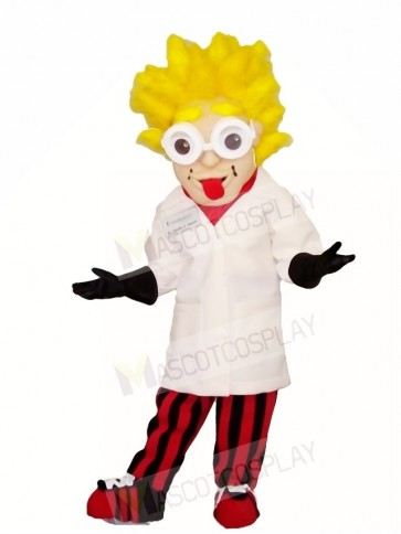 Enstein Scientist Mascot Costumes People