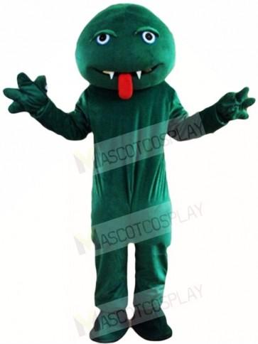 Green Snake Monster Mascot Costumes Animal