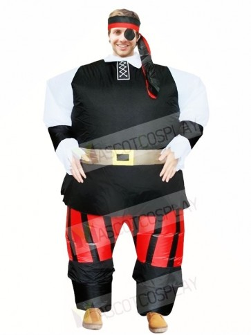 Pirates of The Caribbean Inflatable Halloween Xmas Costumes for Adults