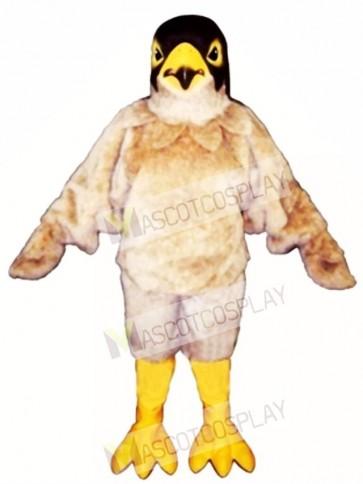 Cute Tan Eagle Mascot Costume