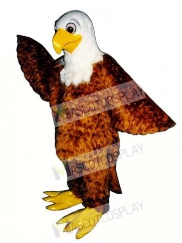Cute Friendly Eagle Mascot Costume