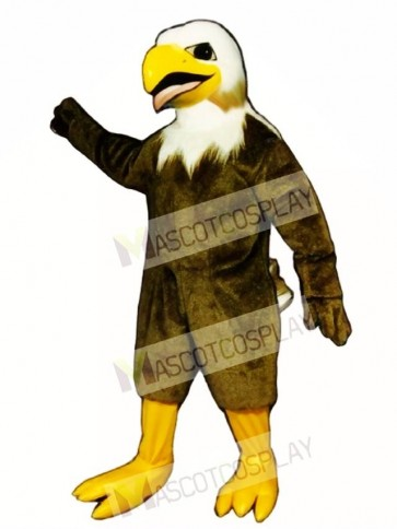 Cute Screaming Eagle Mascot Costume
