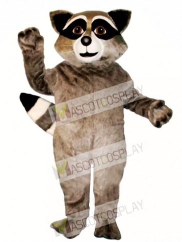 Cute Wild Raccoon Mascot Costume