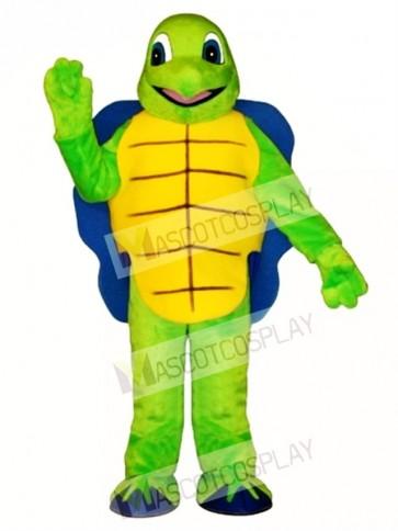 Blue Shell Turtle Mascot Costume