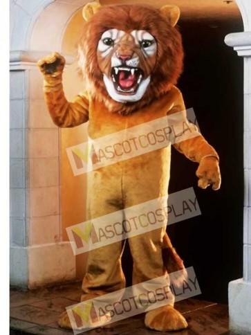 Cute Super Lion Mascot Costume