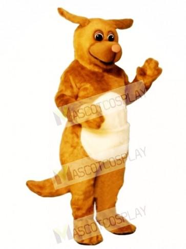 Cute Rudy Roo Kangaroo Mascot Costume
