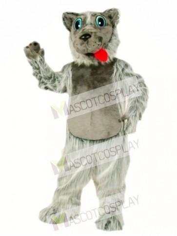 Cute Lobo Dog Mascot Costume