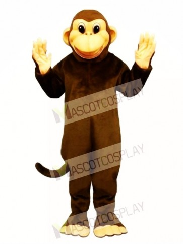 Cute Mischevious Monkey Mascot Costume