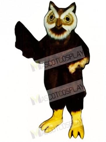 Cute Owl Mascot Costume