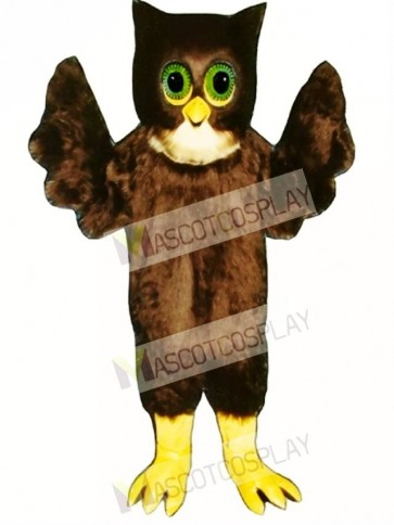 Cute Wise Owl Mascot Costume