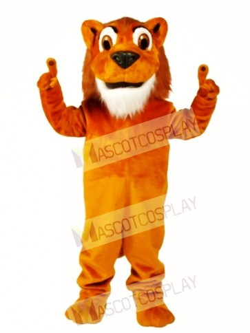 Cute Larry Lion Mascot Costume