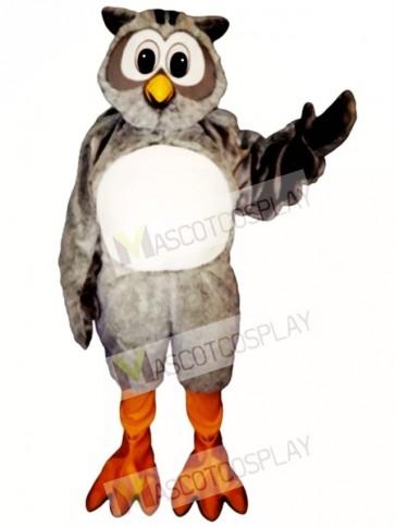 Cute Mr. Owl Mascot Costume