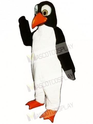 Cute Penny Penguin Mascot Costume