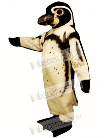 Cute Humboldt Penguin Mascot Costume