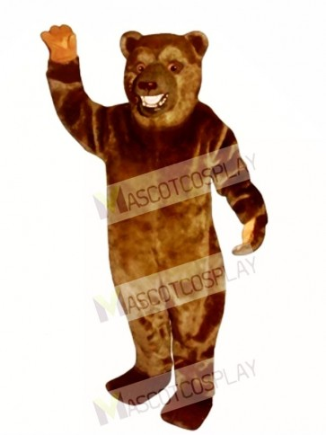 New Snarling Bear Mascot Costume