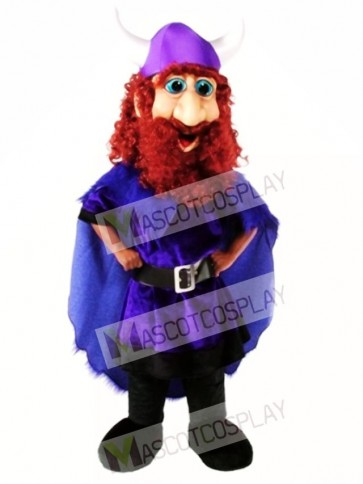 Friendly Viking Mascot Costume