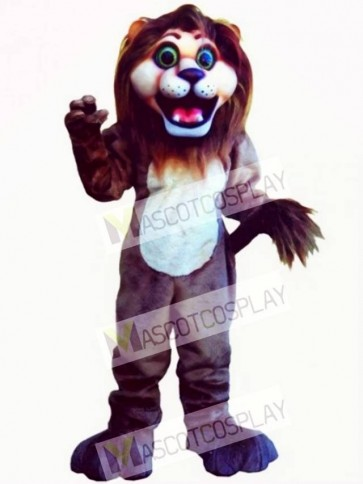 Cute Andy Lion Mascot Costume