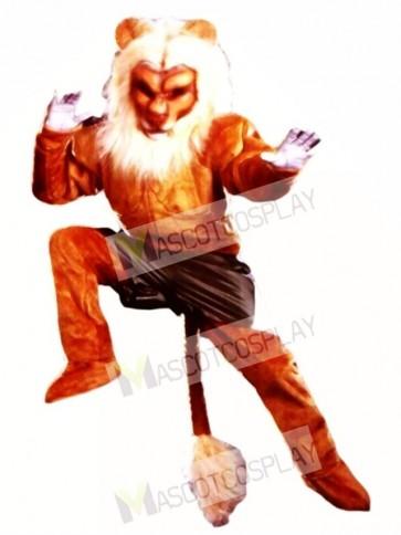 Cute Pro Lion Mascot Costume