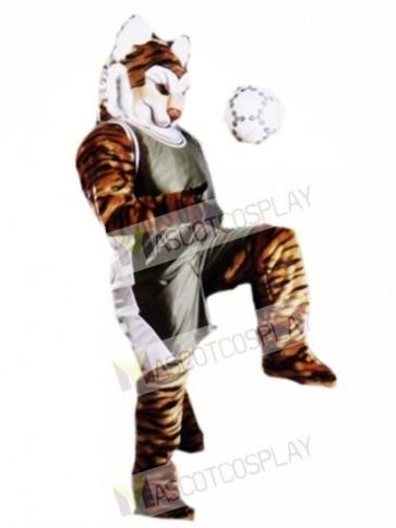 Cute Pro Tiger Mascot Costume