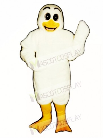 Cute Ugly Ducking Duck Mascot Costume