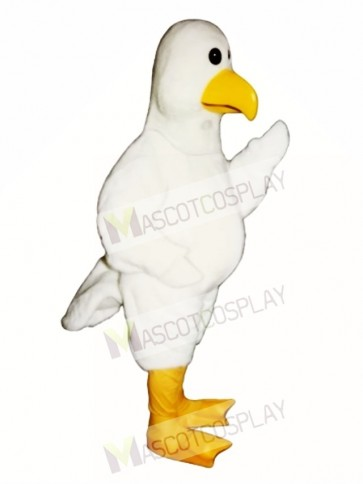 Cute Sammy Seagull Mascot Costume