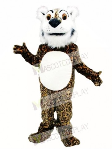 Cute Comic Leopard Mascot Costume