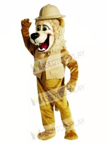 Cute Roary Lion Mascot Costume