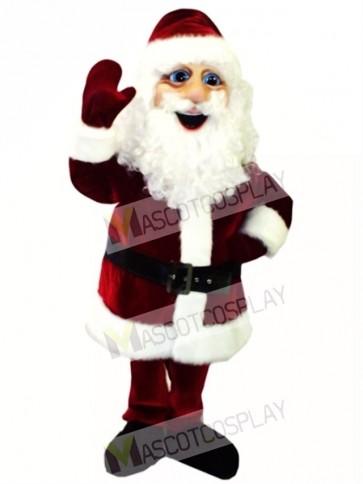 Cute St. Nicholas Mascot Costume