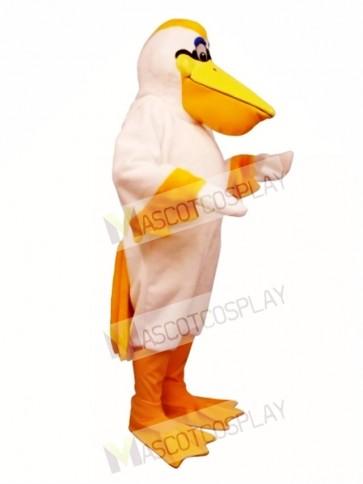 Cute Peter Pelican Mascot Costume