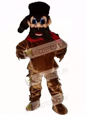 Frontiersman Mascot Costume
