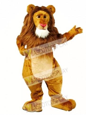 Cute Wally Lion Mascot Costume