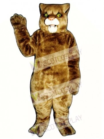 Cute Wildcat Cat Mascot Costume