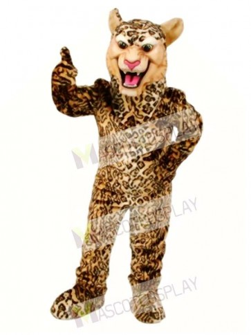 Cute Leopard/Cheetah/Jaguar Mascot Costume
