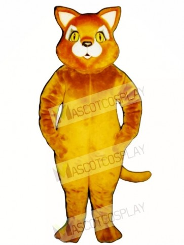 Cute Cinnamon Cat Mascot Costume