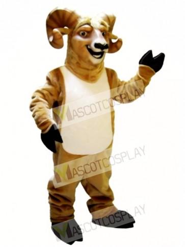 Cute Ram Mascot Costume