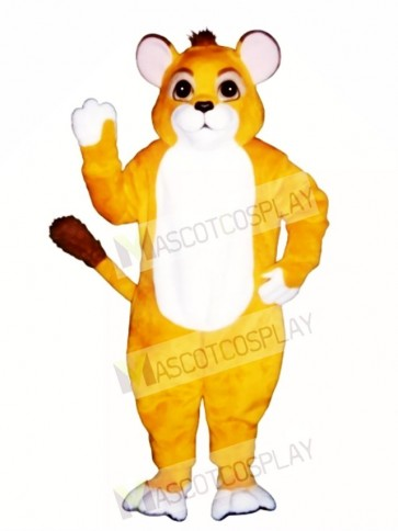 Cute Lion Cub Mascot Costume