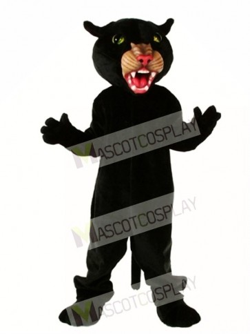 Cute Panther Mascot Costume