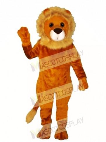 Cute Linus Lion Mascot Costume