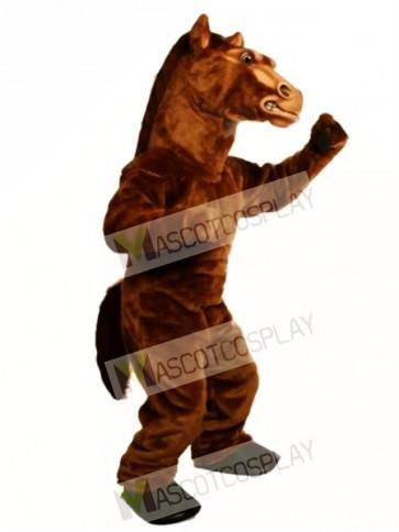 Cute Power Fierce Stallion Horse Mascot Costume
