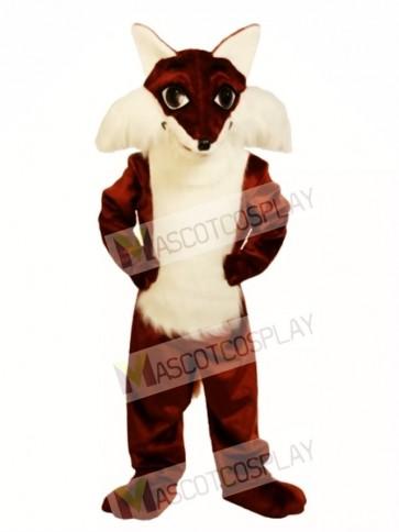 Cute Fox Mascot Costume