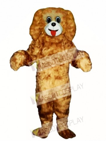 Cute Cocker Spaniel Dog Mascot Costume